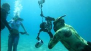 Подводна дълбочинна фотосесия