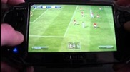 Fifa 12 Ps Vita gameplay Man united v Liverpool