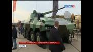 "Канал 1 първи Россия показа Бмп ""атом"" и новите танкове Т-90мс ""пробив"""