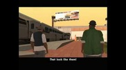 Gta San Andreas - Wrong Side of the Tracks (big Smoke Mission #3) - Method #2 - the Minigun - Missio