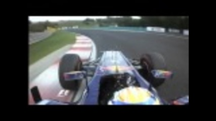 Formula 1 2011 - Hungary Sebastian Vettel Pole Lap Onboard - Quali Highlights - Bbc