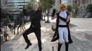 Slender Man vs Gangnam Style