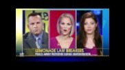 Лимонаденият стенд по Fox & Friends 22/8/11 - Rob Fernandes & Meg Mclain