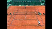 Agassi- Wilander French Open 1988 Sf