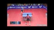 Timo Boll vs Chuang Chih-yuan