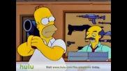 The Simpsons - Gun Shop