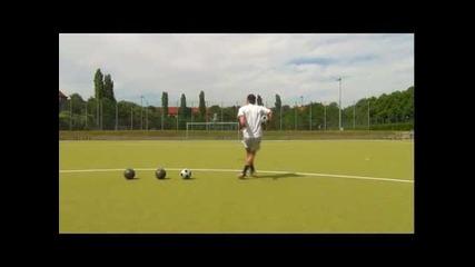 Best Free Kick Technique