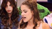 Momento Musical - Leon y Violetta cantan en clase
