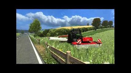 Farming Simulator 2011 Arbeiten in der Nordeifel