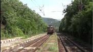 43 511 и 43 551 с товарен влак
