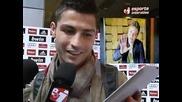 Michel Telo invites Ronaldo to dance with him