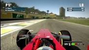F1 2012 Brazil Interlagos Time Trial 1.10.480 My gameplay