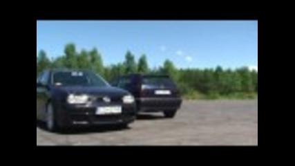 Golf Mk3 Vr6 vs. Golf Mk4 r32