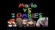 Mario Vs. Zombies ft. Left 4 Dead 2 Cast (l4d2/super Mario Machinima)