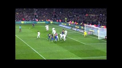 Dani Alves Scores Beautiful Goal - Barcelona vs. Real Madrid