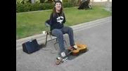 Fade to Black на китара с крака от Mark Goffeney