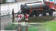 Футболен мач или турнир по водна топка в Казахстан?