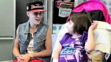Justin Bieber Surprises Children At The Hospital