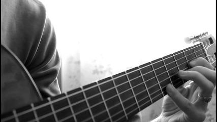 """Виртуозно изпълнение на китара """"toto Cotungo - L'italiano"""""""