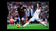 Lionel Messi Humiliating Real Madrid Players