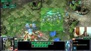 Starcraft2- Spaski Pvp Два имортала зеалоти срещу сталкери с блинк