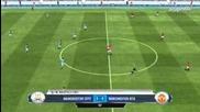 Fifa 13 gameplay man utd vs man city
