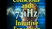 1 Hour 741hz Conscious and Intuitive Expansion Meditation Recalibrated to 432 Tuning