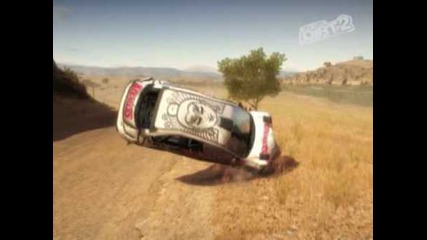 dirt 2-crash na coli