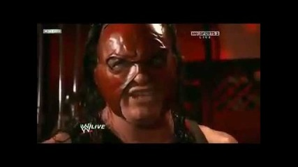Wwe Raw 1/16/12 Kane Interrupts John Cena vs Jack Swagger Match