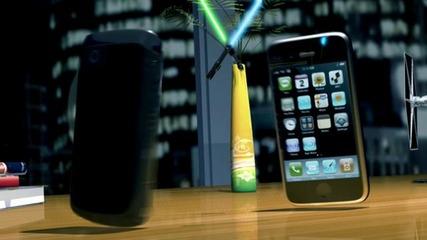 Войната на телефоните :d
