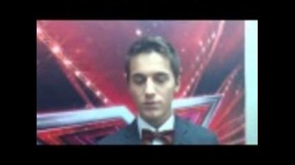 X Factor Bulgaria Богомил Бонев - споделя след концерта 11.10.2011
