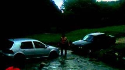 Голфу не е от Перник и закъса в реката