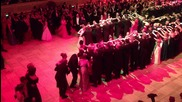 Galop at end of 2am Quadrille at Wien Opernball 7th February 2013