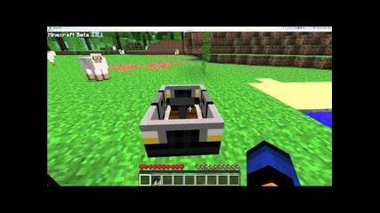 Minecraft The Car Mod 1.8.1