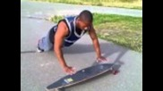 Skateboard Pushups by The Bar Union
