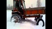 T16 в снега...