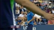 Григор Димитров е на 1/8 финал на Us Open след победа над Давид Гофин и труден обрад с 3:1 сета