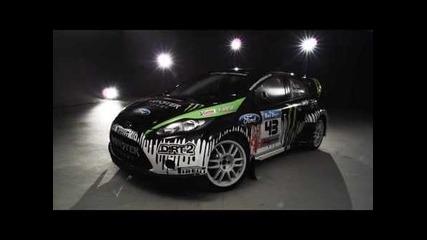 Ken Block 's Ford Fiesta