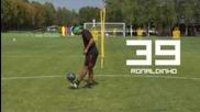 Ronaldhino 44 trick eyes cover Amazing {hd}