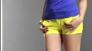 Дамски къси панталонки от Кокетна