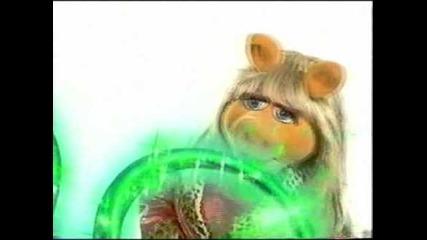 Miss Piggy - Disney Channel Logo