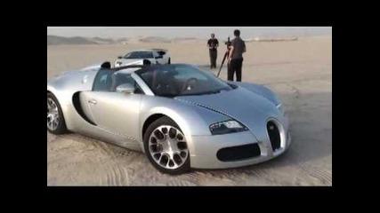 Bugatti Veyron and Lamborghini Sv