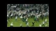 Свирепи инциденти на финала за Купата в Полша