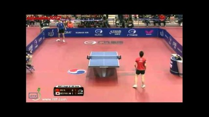 Велик мач : Xu Xin vs Jun Mizutani (korea Open 2013 1/4 Final)