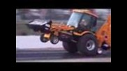 Dragster backhoe at Rocky Mountain Nationals