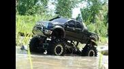 Rc приключения - Toyota - кал и вода