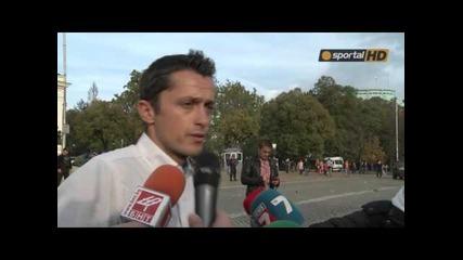 Христо Янев: Показахме единството на Цска