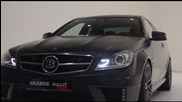 2013 Brabus Mercedes C Class 6.3 litre twin turbo V12 Bullit Coupe
