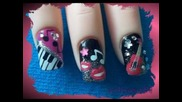 Rockstar Inspired Nail Art