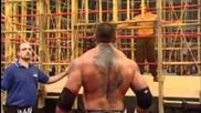 Batista vs The Great Khali No Mercy 2007 Punjabi Prison Match Part 1/2
